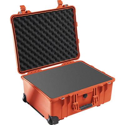 pelican 1560 orange foam camera case