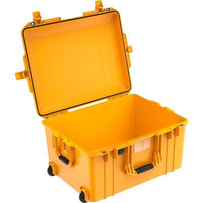 peli 1607 air deep yellow crushproof case