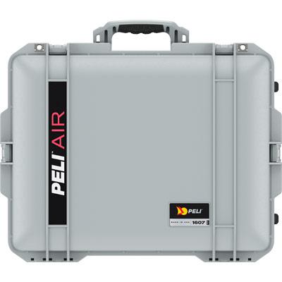 peli 1607 air silver tough hard case