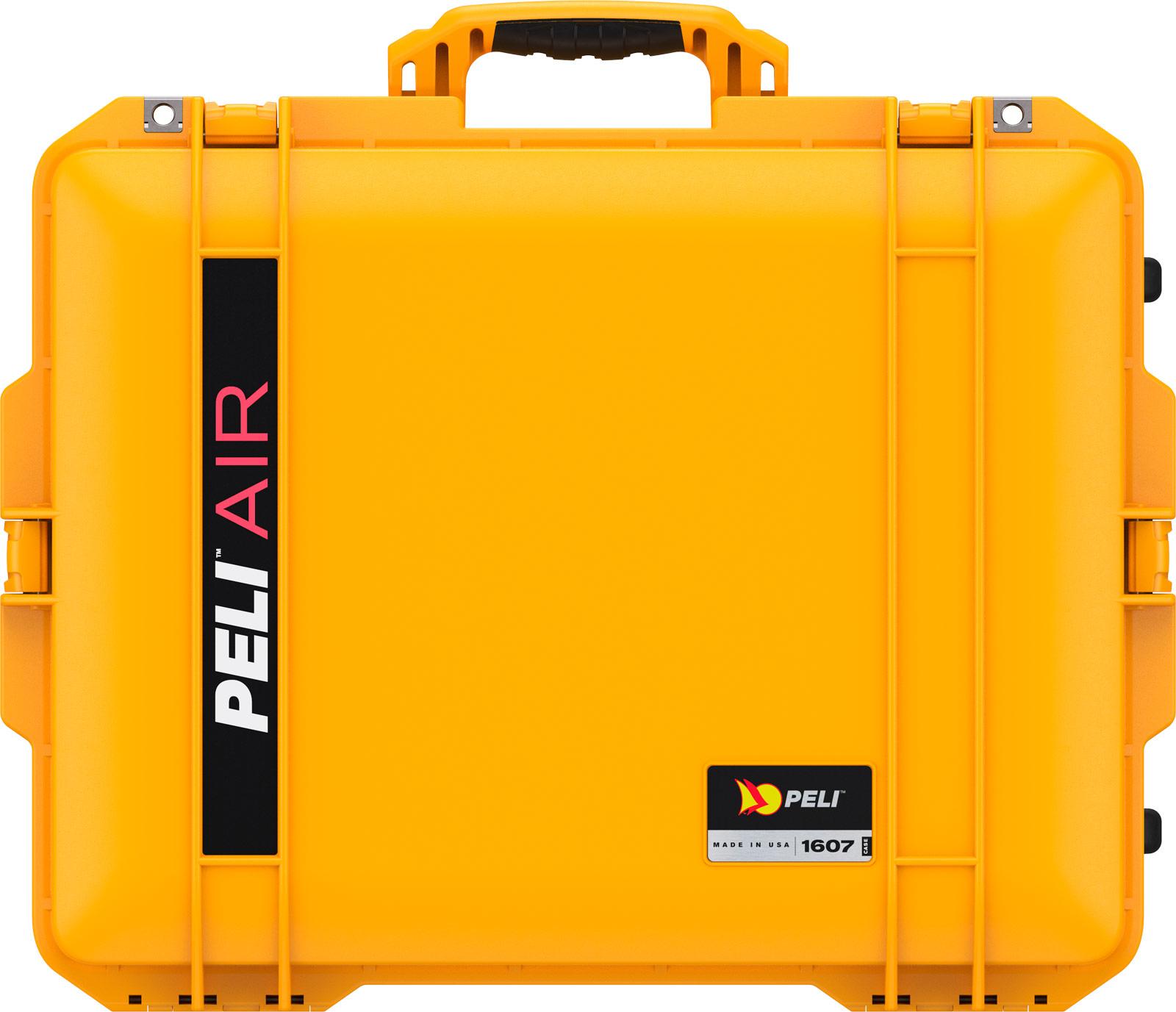 peli yellow 1607 air crushproof case