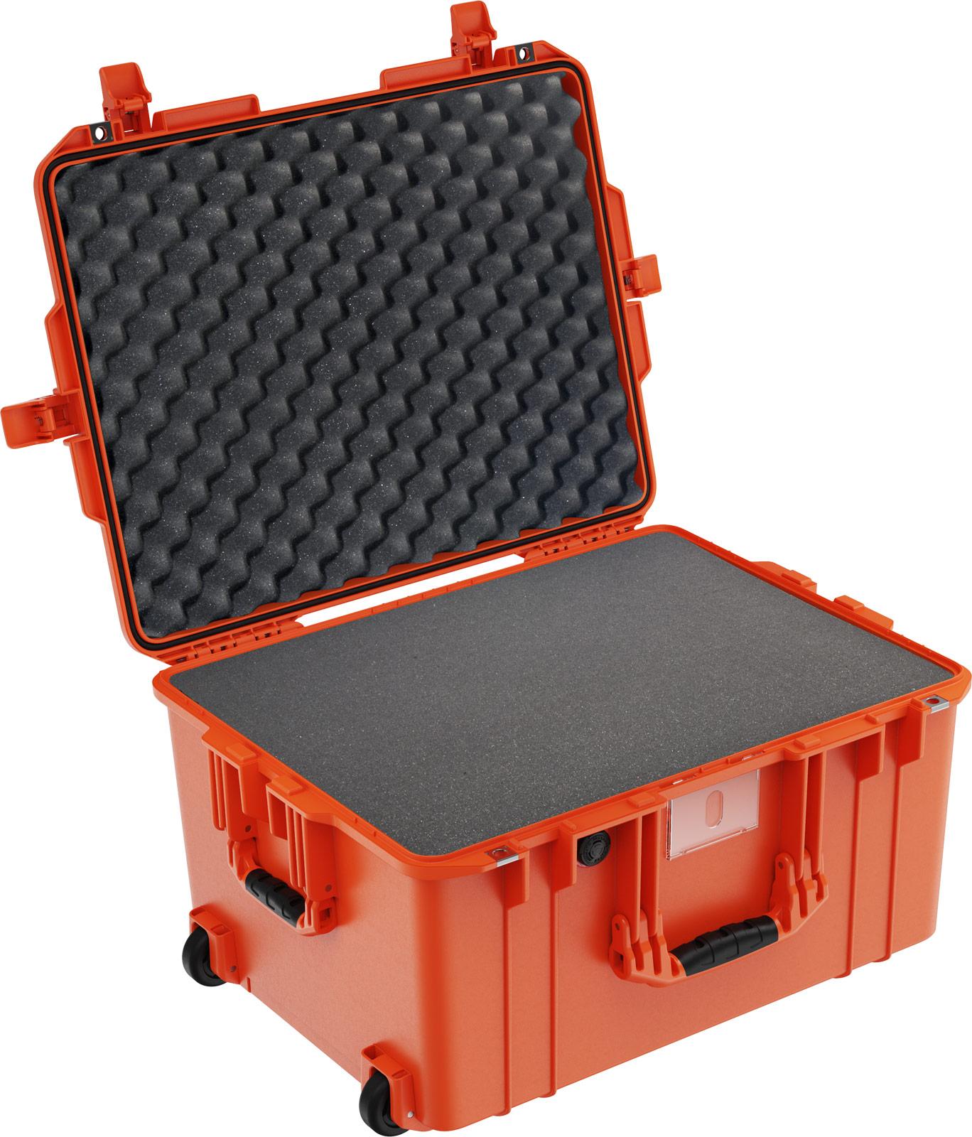 pelican deep watertight case orange