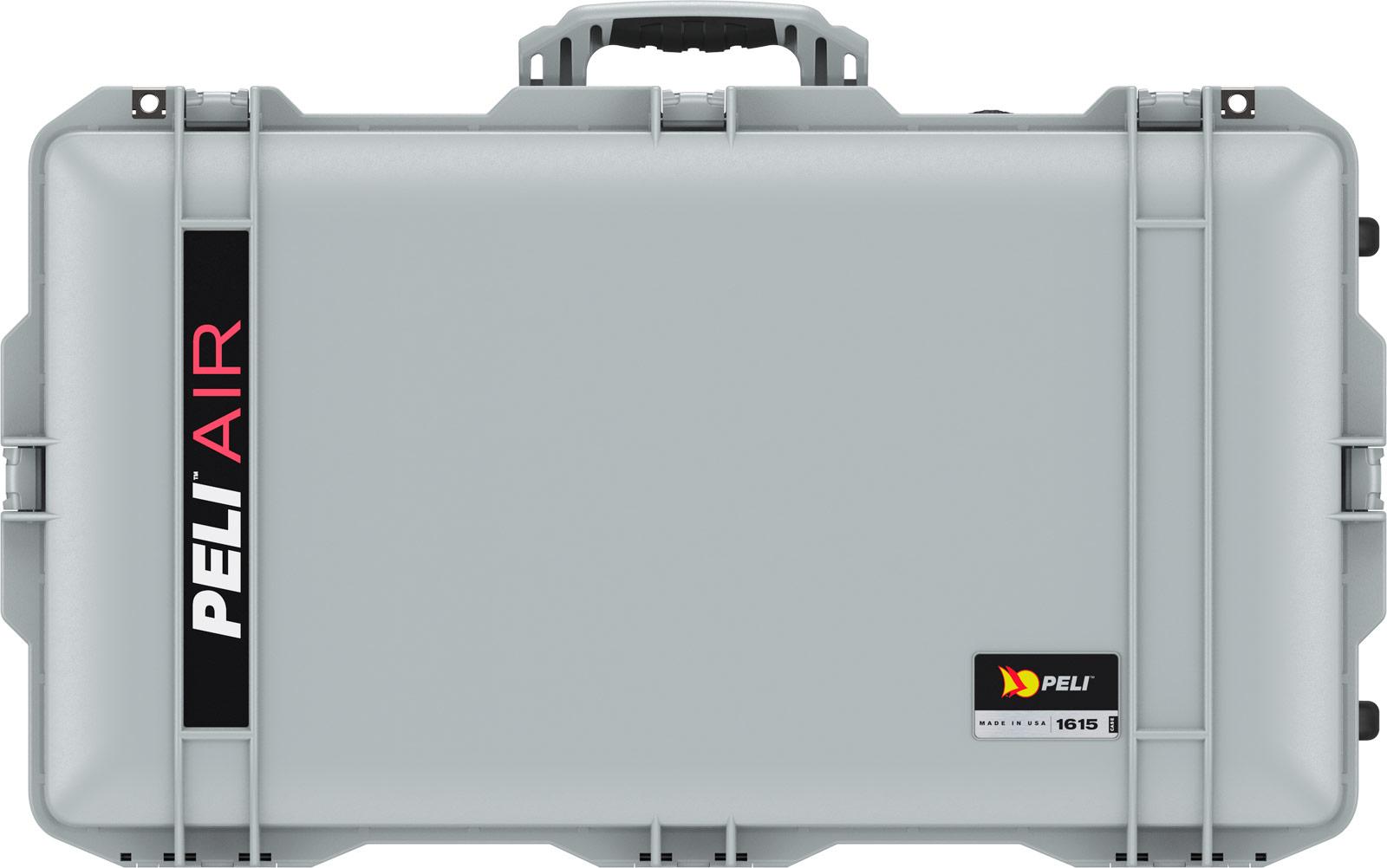 peli 1615 silver airline protective tsa case