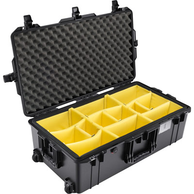 pelican air 1615 padded dividers travel case