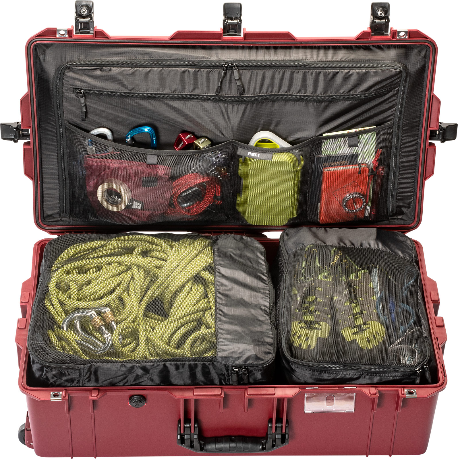 peli 1615 check in airline luggage cases