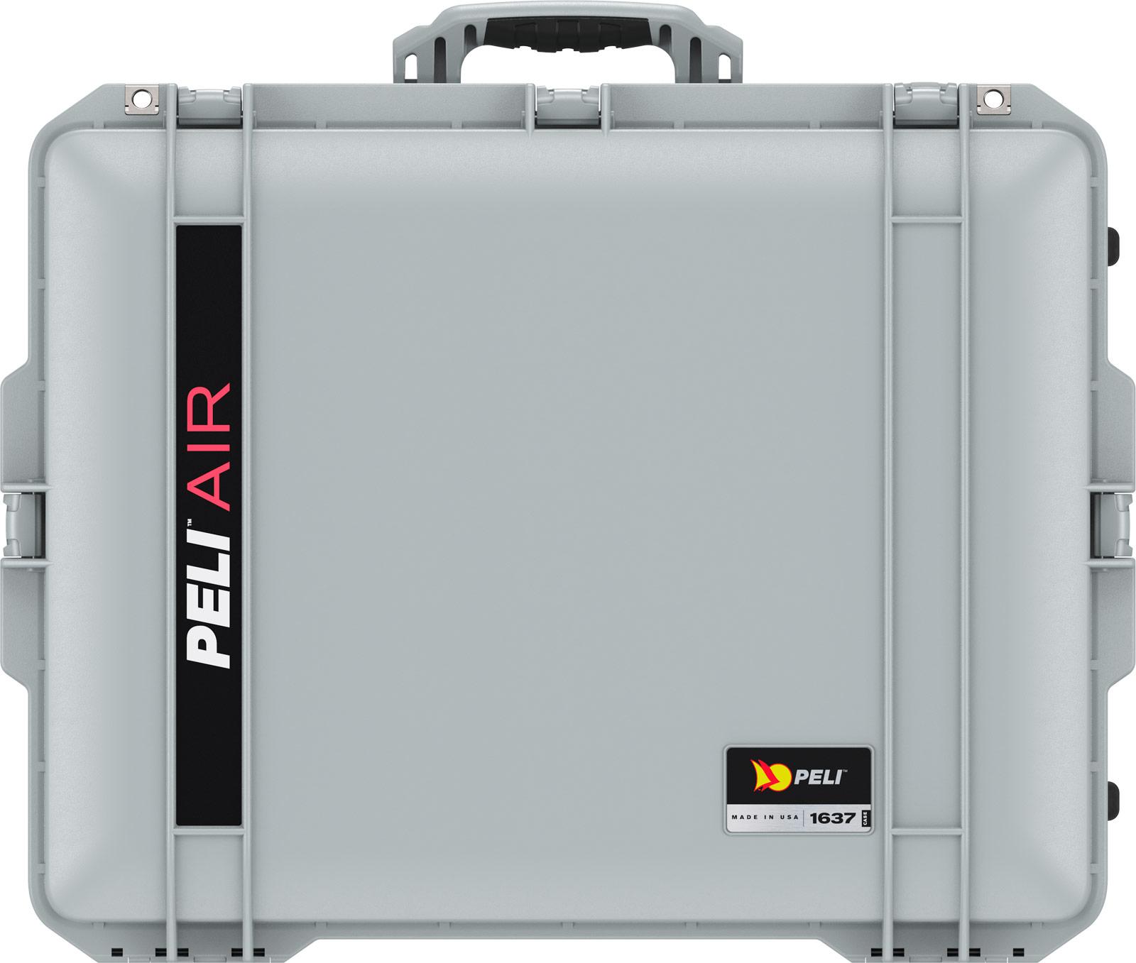 peli 1637 air silver lightweight case