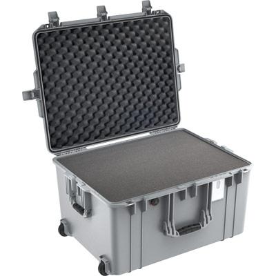 pelican 1637 air silver roller travel case