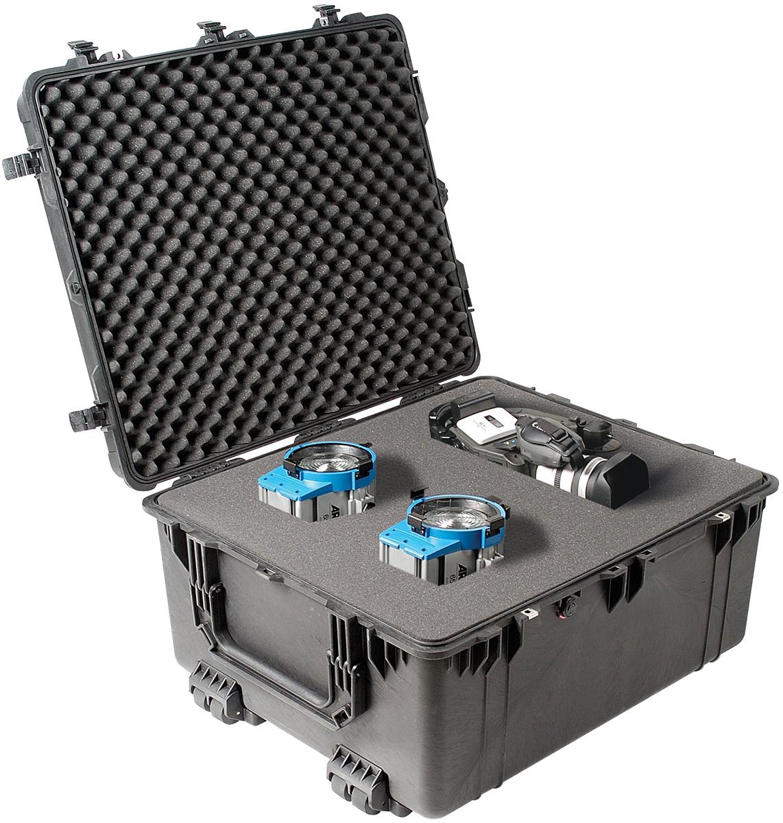 pelican rolling video film camera gear case