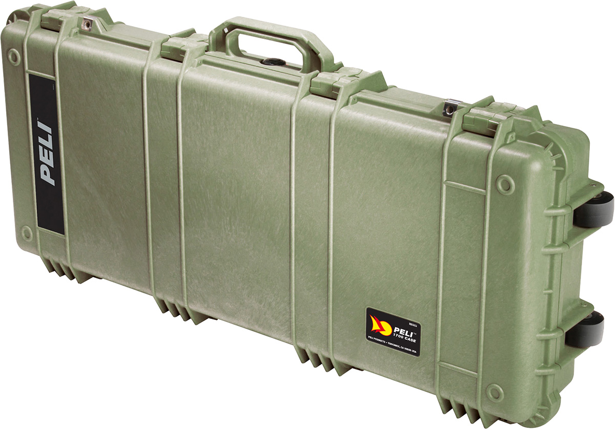 peli long rifle pelicase hard gun case