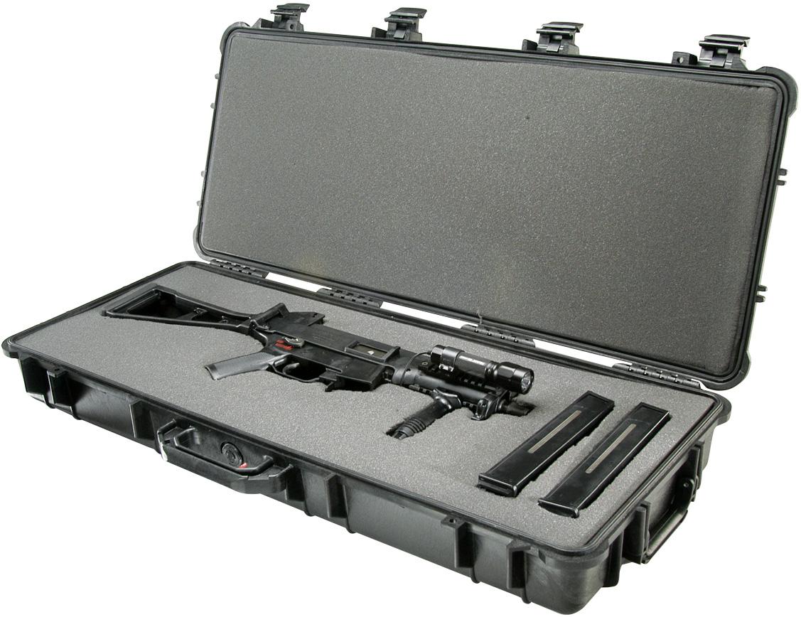 pelican usa made rifle gun hard shell case