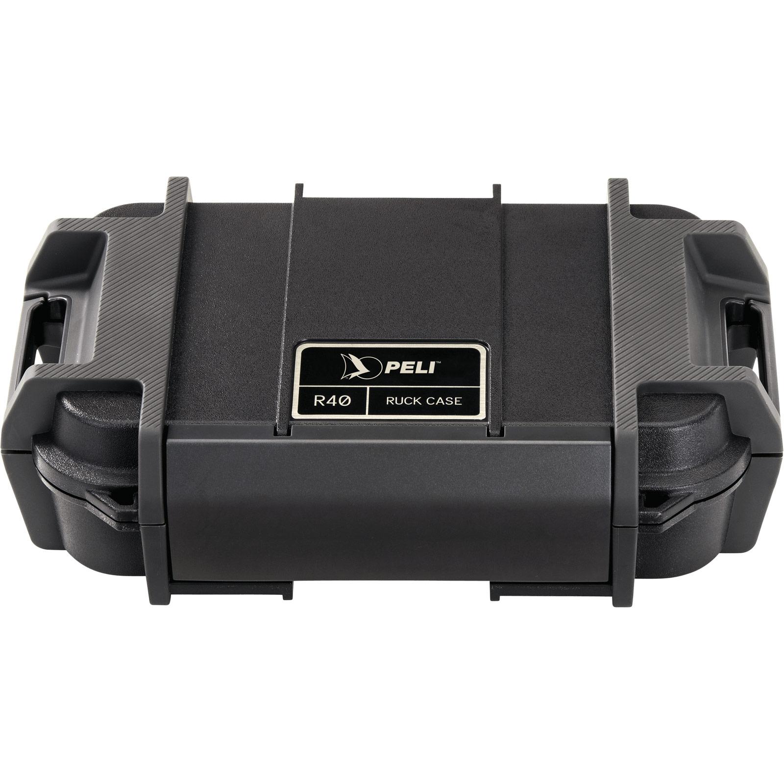 peli r40 ruck ip68 black case