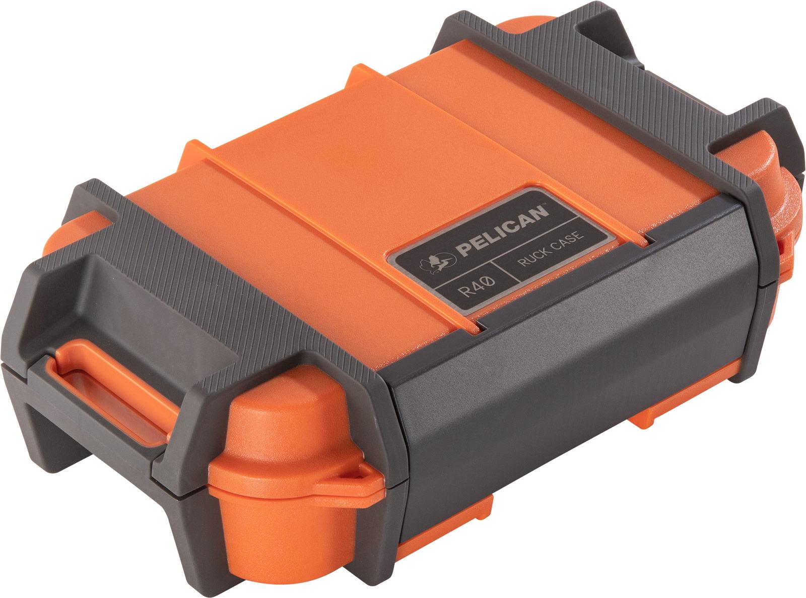 pelican r40 ruck orange protective case