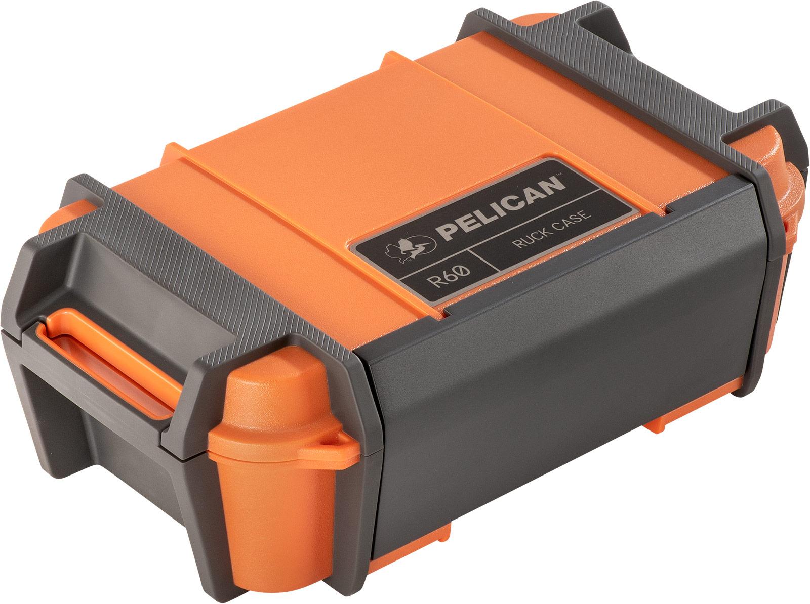 pelican ruck r60 orange headlamp case