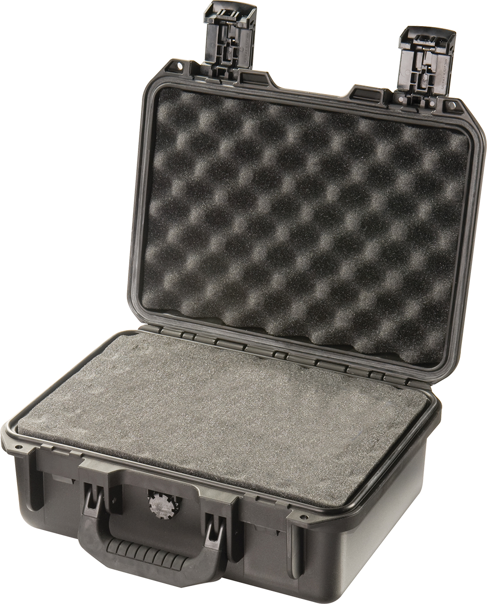 pelican im2100 black rugged gun case