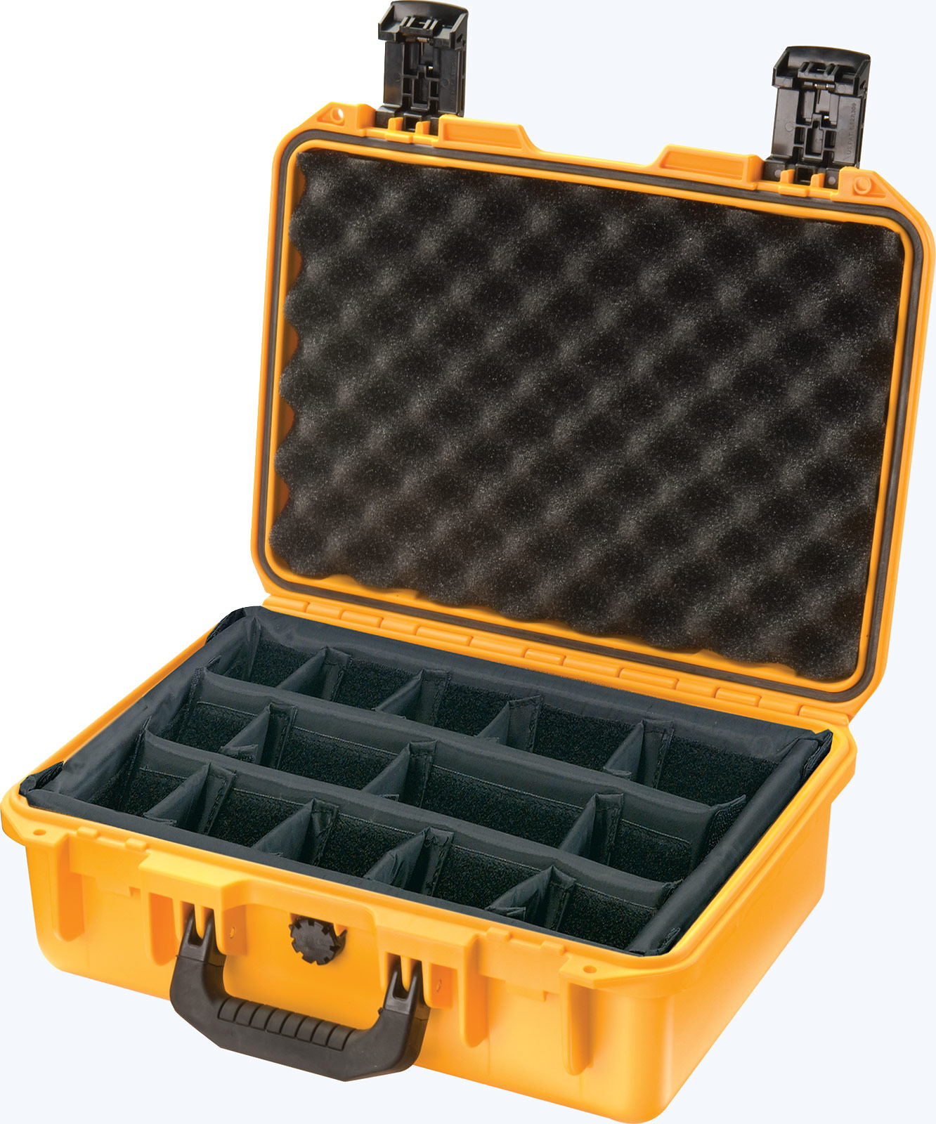 pelican im2200 padded divider yellow case