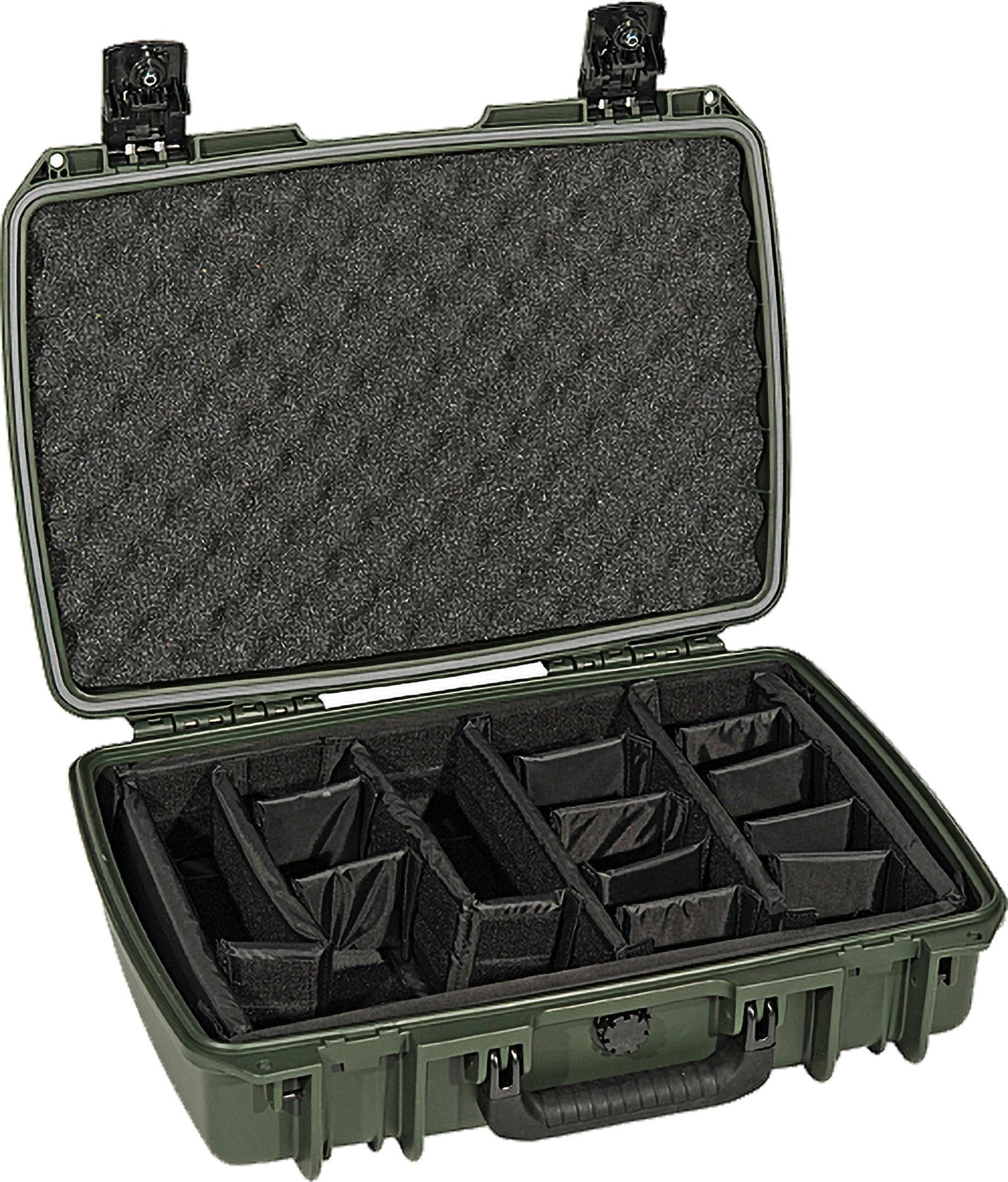 pelican im2370 green padded divider case