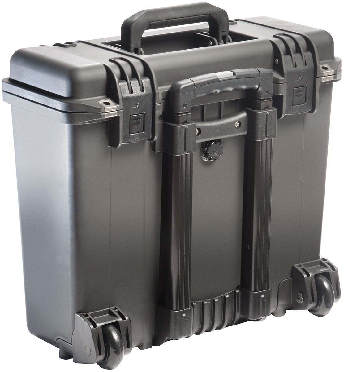 pelican hard rolling travel document case