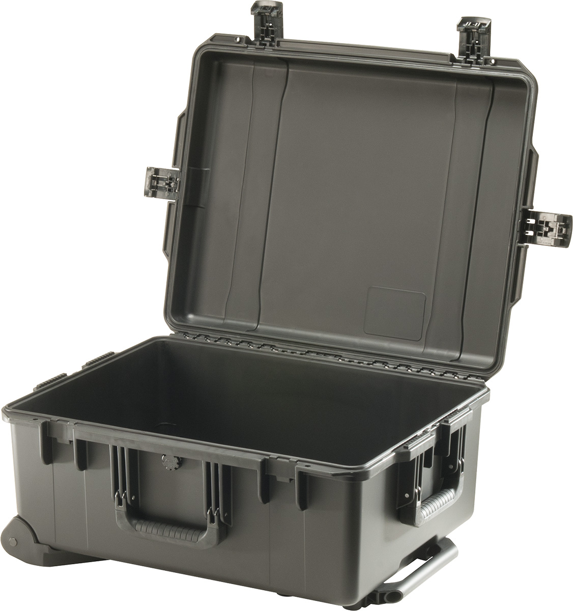 pelican waterproof rolling travel hard case
