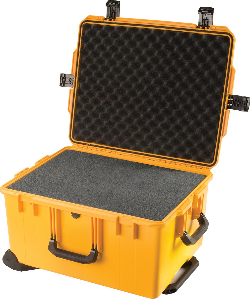 pelican im2750 foam yellow camera case