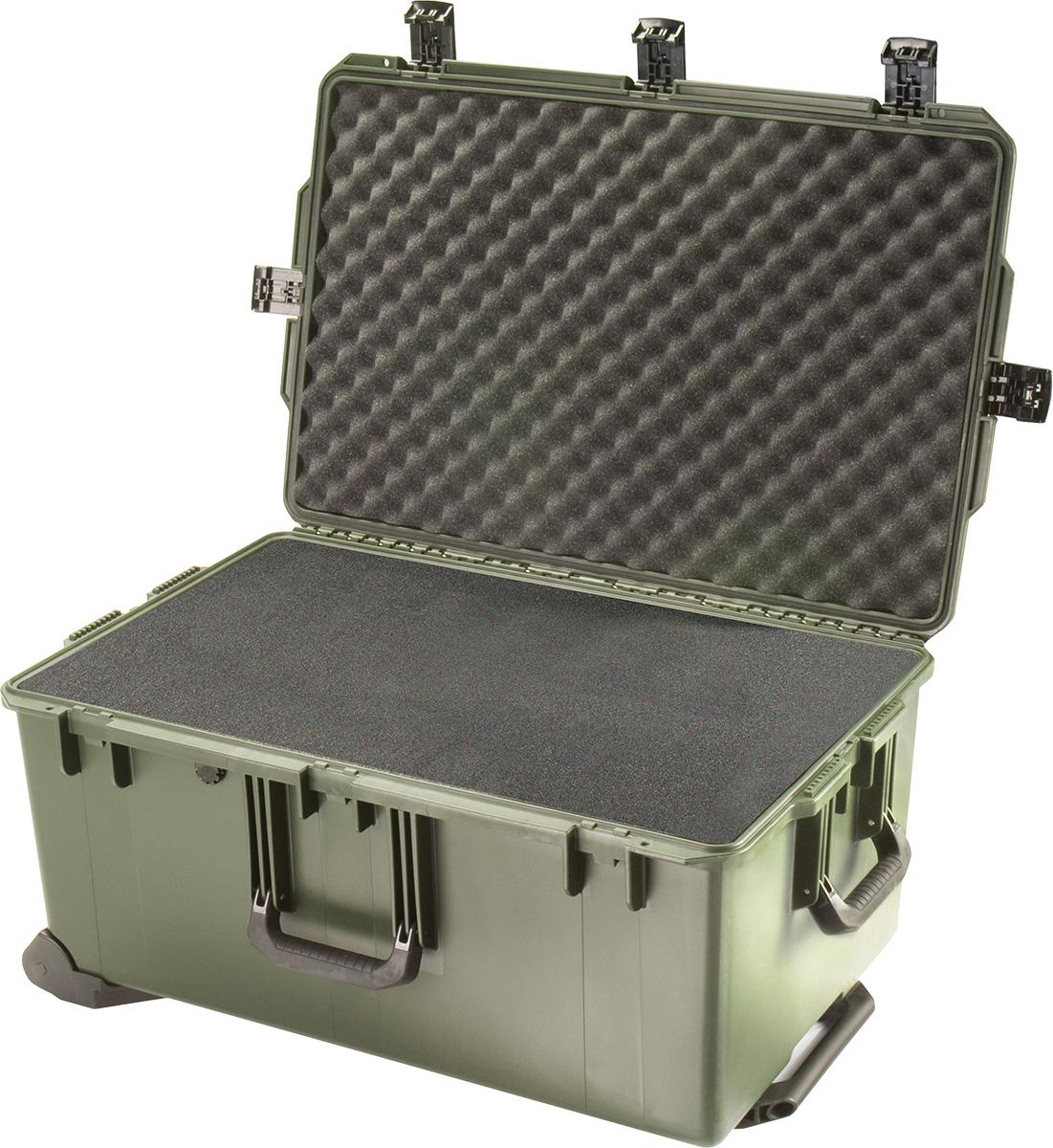 pelican im2975 green foam waterproof case