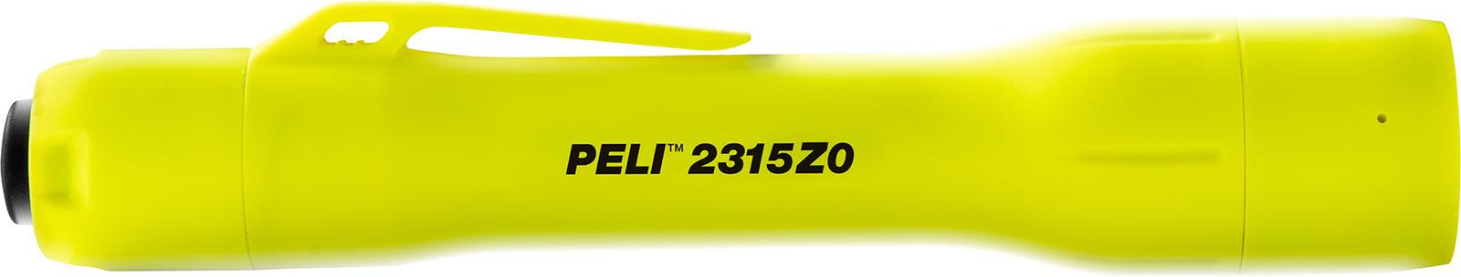 peli safety approved torch 2315z0 led