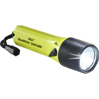 peli 2410 stealth light led safety torch