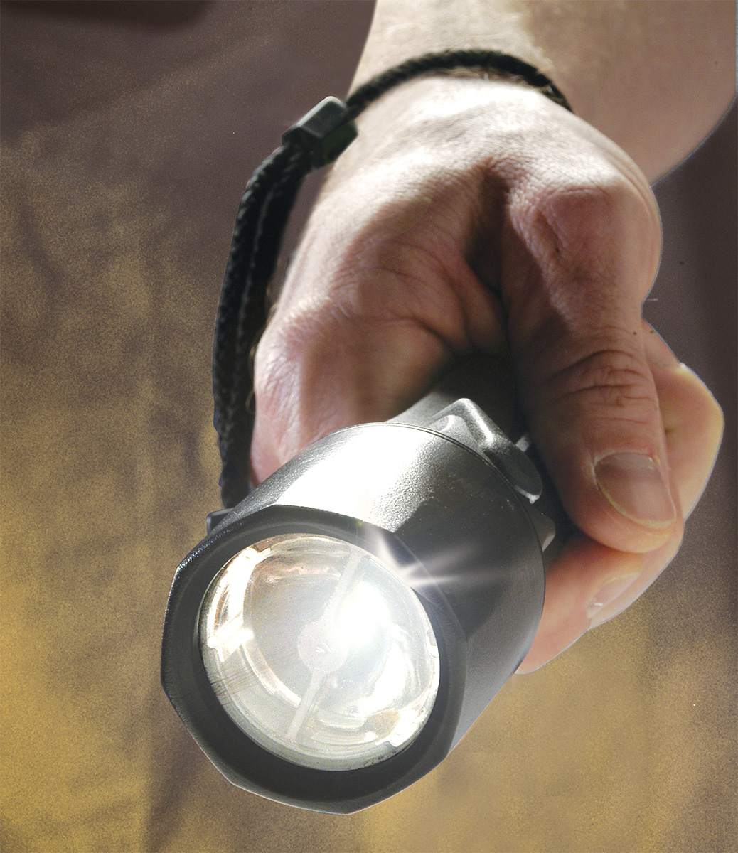 pelican safety approved rated flash light