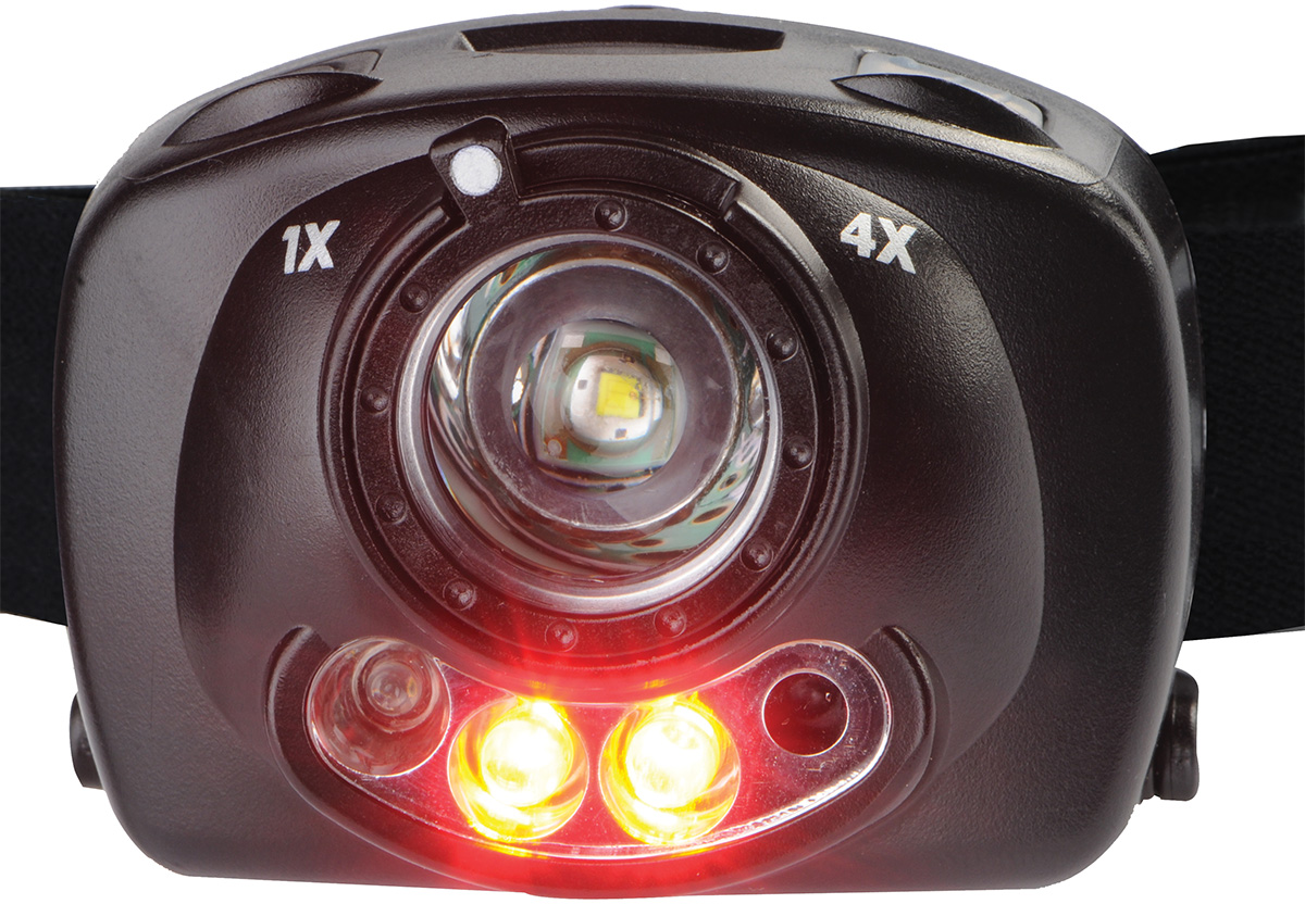 pelican best red night vision led headlamp