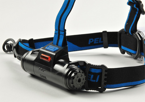 peli products led head lamp rechargeable