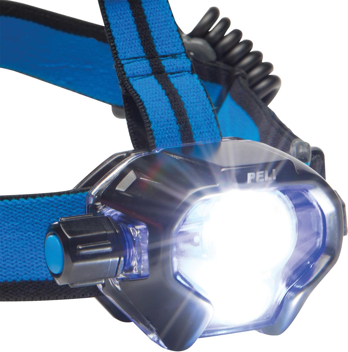 peli rechargeable super bright led headlamp
