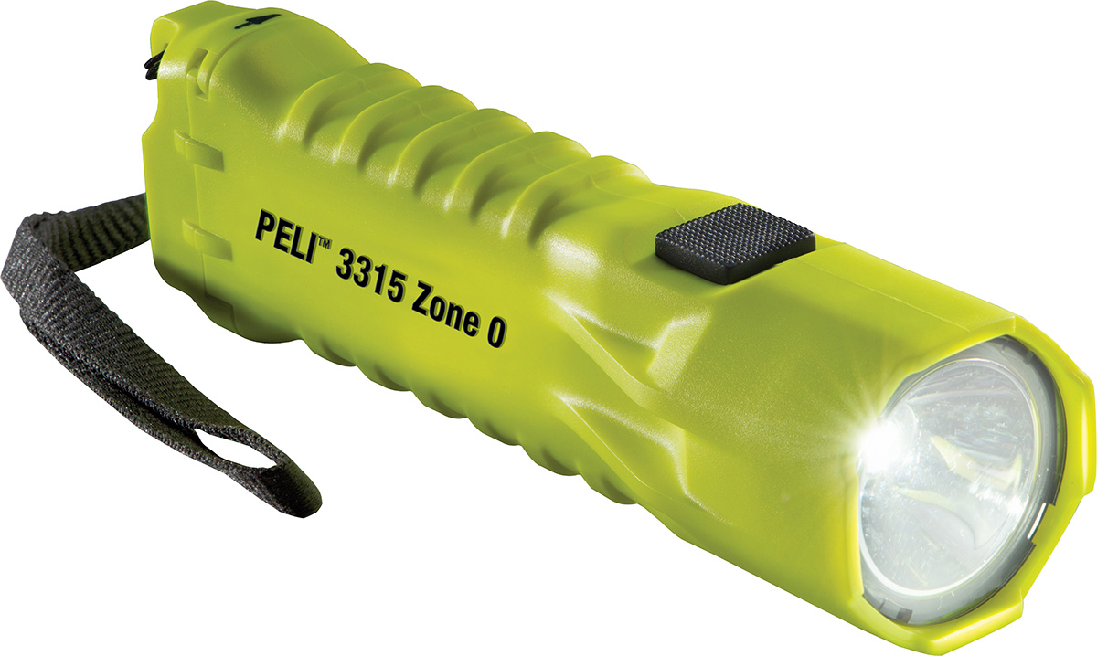 peli 3315z0 safety atex certified led torch