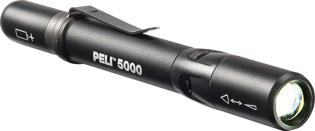peli 5000 compact clip on torch