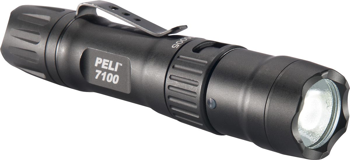 peli 7100 led tactical torch high lumens