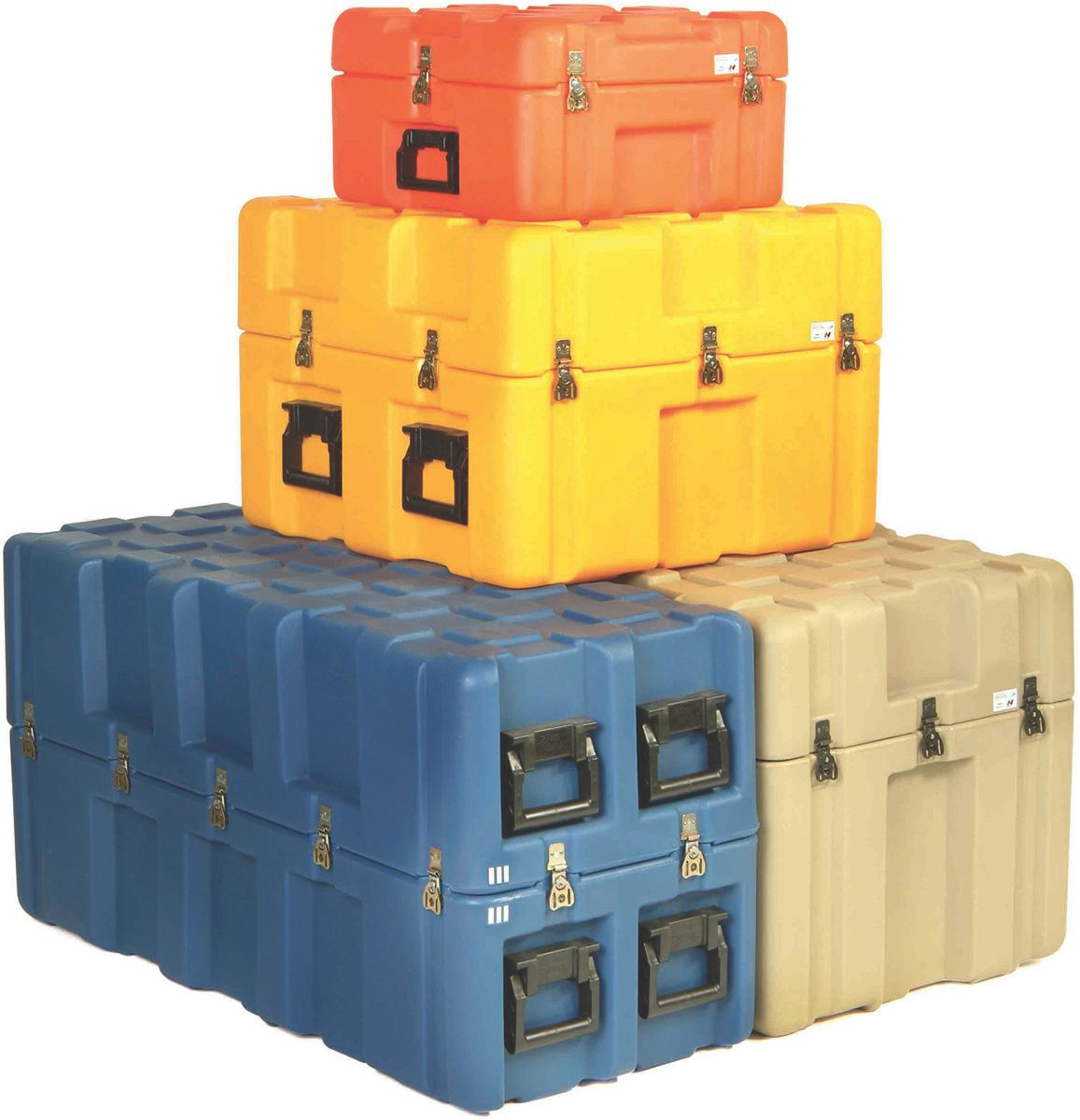 peli isp2 insterlocking hard shipping cases
