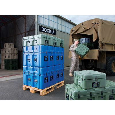 peli isp2 military transport shipping cases