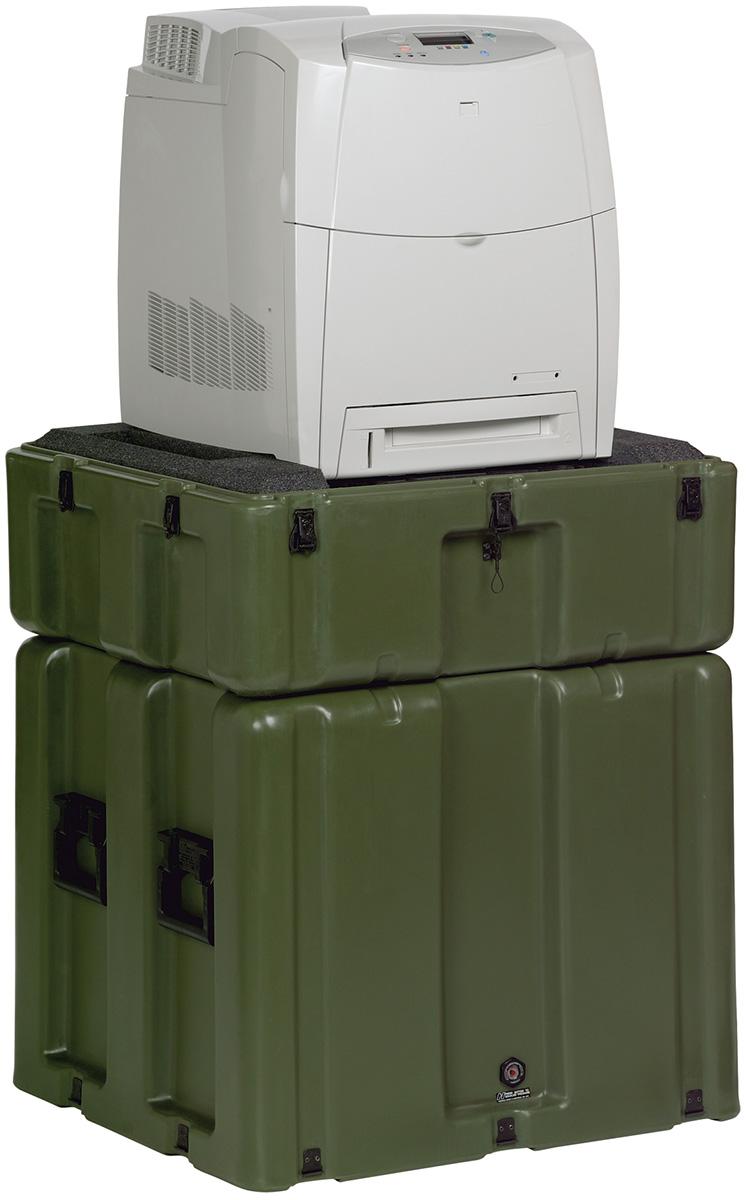 pelican usa military hp printer hard case