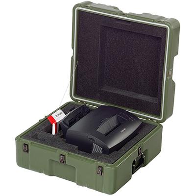 pelican 472 lexmark e323 usa military printer transport case