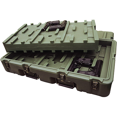 pelican 472 m 9mm br24 usa military large 9mm pistol case