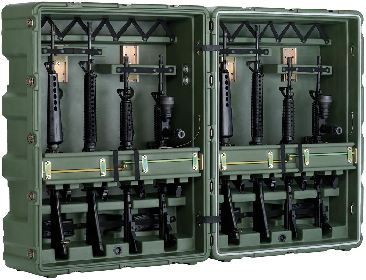 pelican usa military m16 transport box