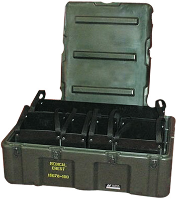 pelican mobile medical supply tote