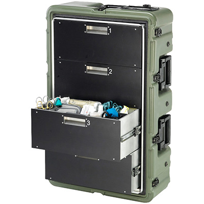 pelican military mobile medical cabinet