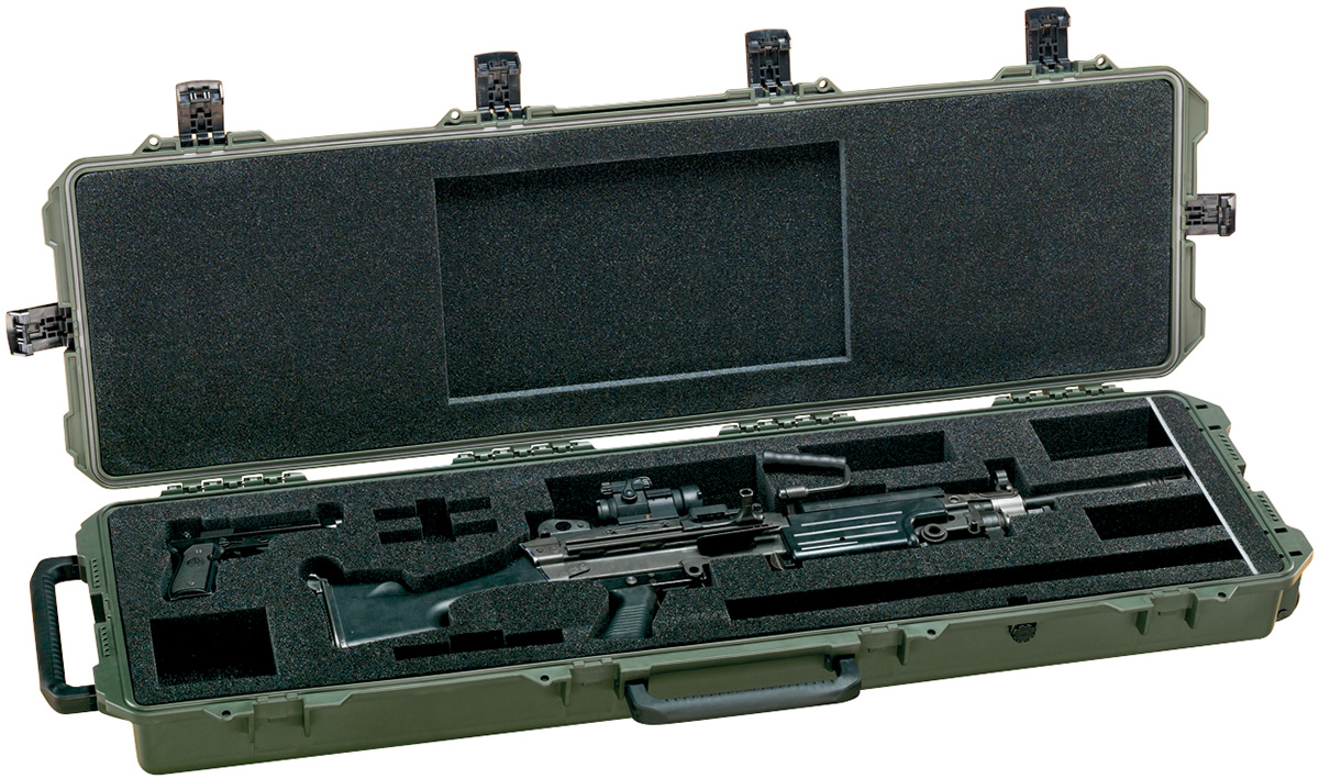 pelican military m249 gun hardcase