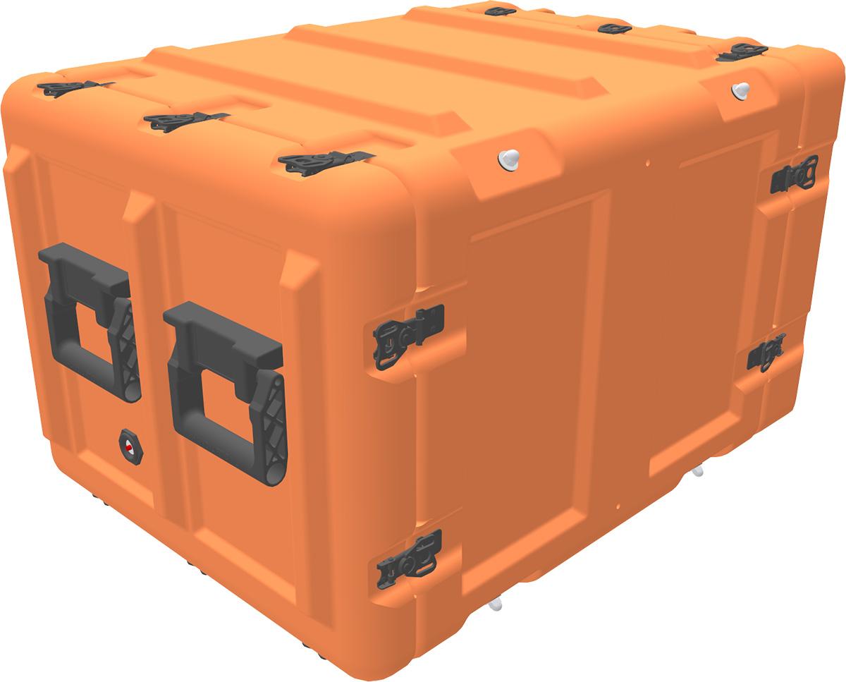 peli min mac rack cases 8u rack mount