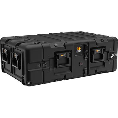 peli 4u rackmount shock mount case