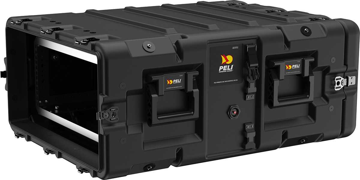 peli super v series 4u rack mount case
