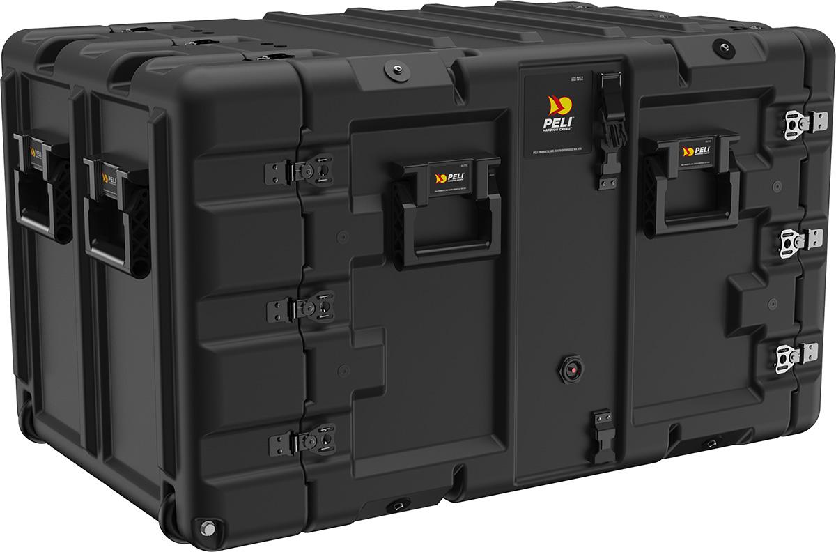 peli 9u shock rack mount server case