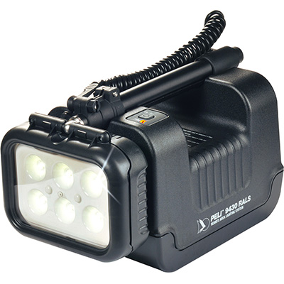 peli 9430 rechargeable portable led spot light
