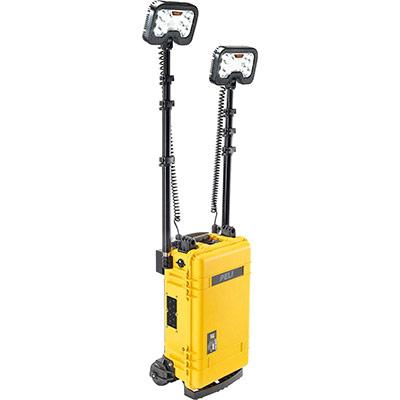 peli 9460m led work light rolling case