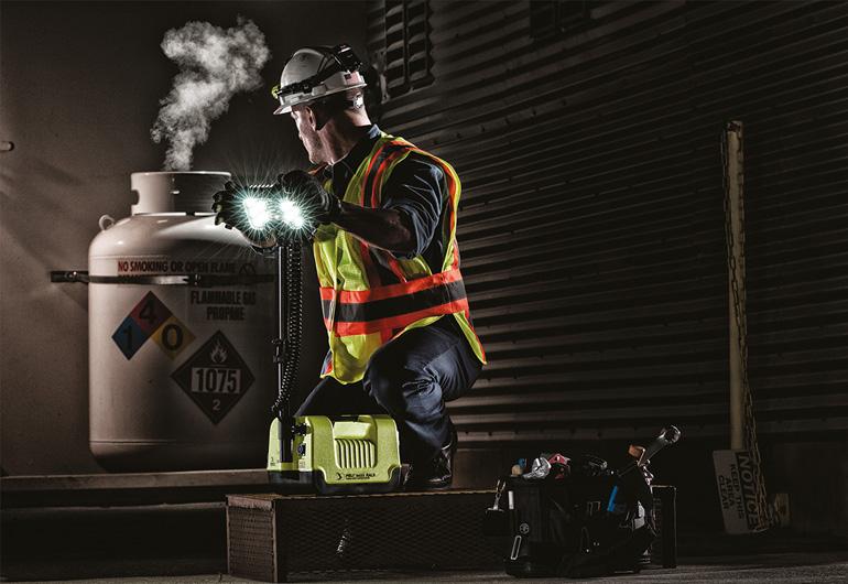 Peli atex safety lights 9455 led area light