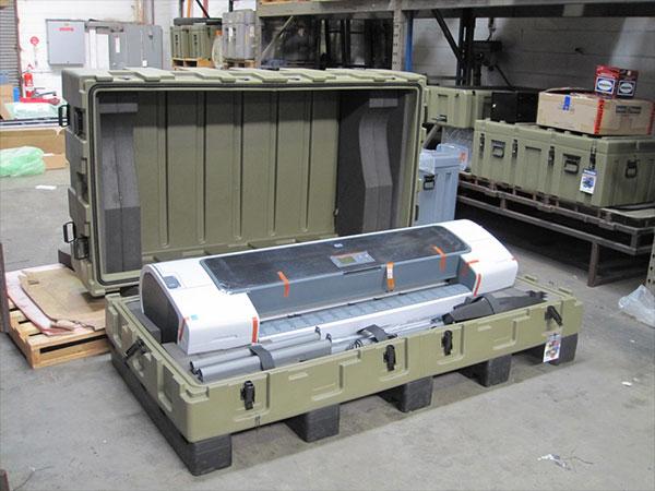 Pelican custom printer cases customized