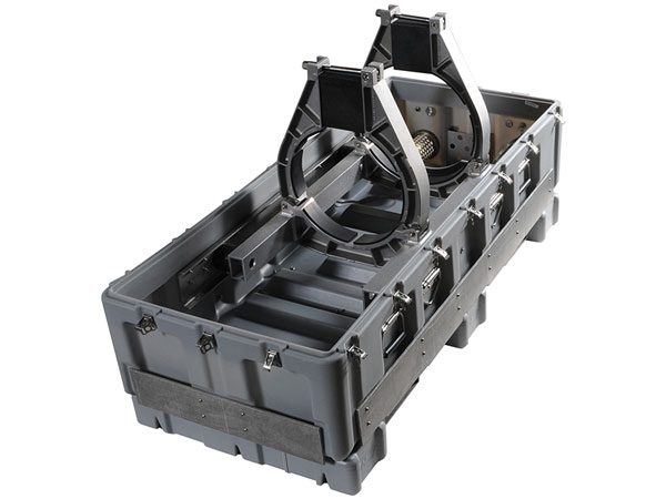 Pelican custom military weapon cases for transport